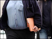 Hombre obeso