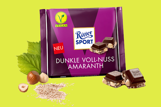 Ritter Sport Debuts Its First Vegan Chocolate Bars