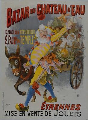 Bazar du chateau d'Eau - french poster