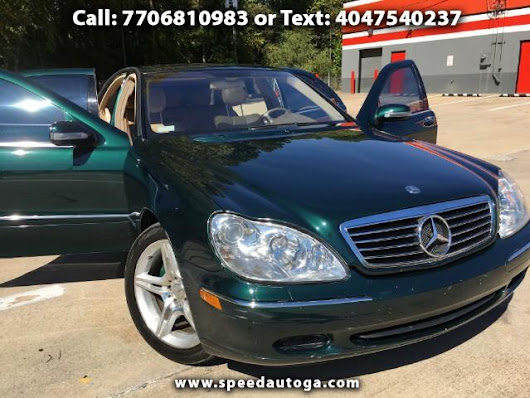 Used 2002 Mercedes-Benz S-Class S500 for Sale in union city Georgia 30291 Speed Auto Sales