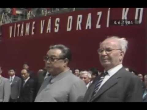 Anniversary of President Kim Il Sung's visit to Czechoslovakia marked