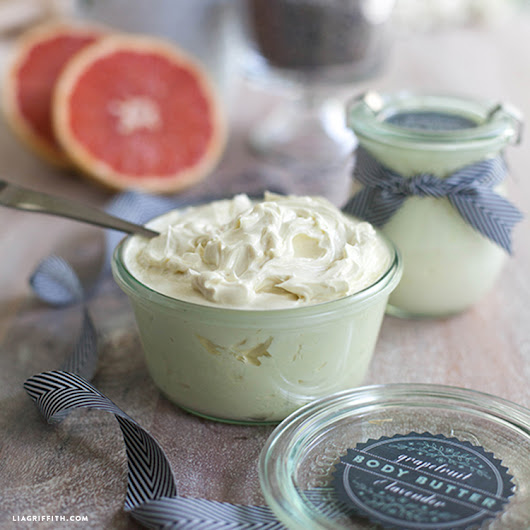 Homemade Whipped Body Butter - Lia Griffith