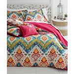 Azalea Skye Moroccan Nights Duvet Cover Set - Red - Full/Queen