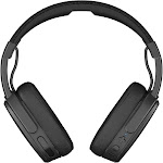 Skullcandy Crusher Bluetooth Wireless Over-Ear Headphone with Microphone, Black