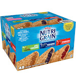 Nutri Grain Soft Baked Bars, Variety Pack - 48 pack, 1.3 oz bars