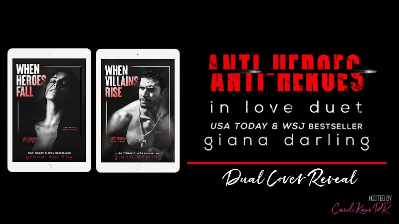 Cover Reveal: Anti-Heroes in Love Duet by Giana Darling