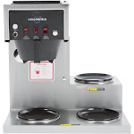 Bloomfield 8573D3 Koffee King 3 Warmer Right Stepped Automatic Coffee Brewer - 1800W, 120V