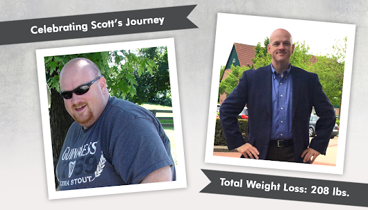 Before & After the Sleeve with Scott, losing 208lbs! - ObesityHelp