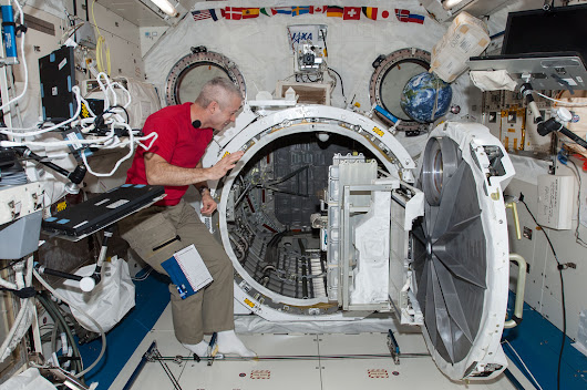 Crew Works Med Science While Prepping for June 19 Spacewalk