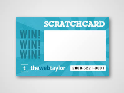 HTML5/Javascript Scratchcard Script - Articles - The Web Taylor