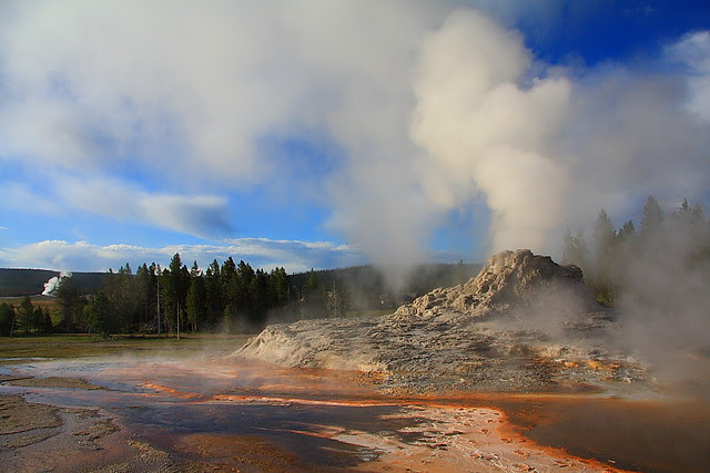IMG_6421 Castle Geyser, Yellowstone National Park