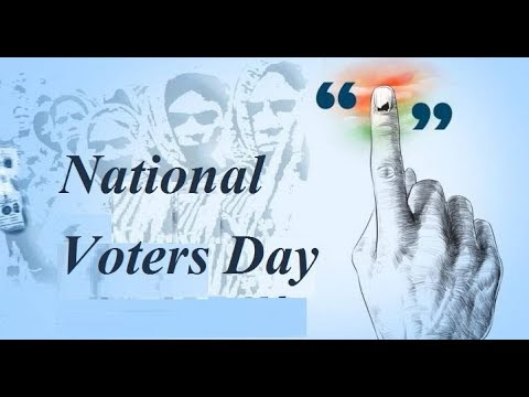National Voters Day in India 25th January