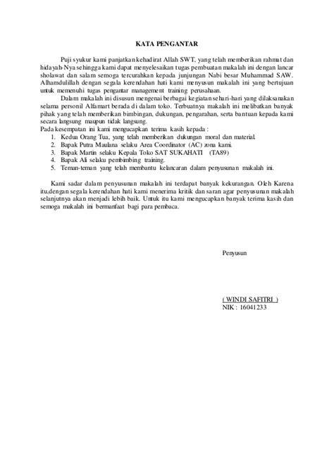 Contoh Makalah Observasi Alfamart Kumpulan Contoh Makalah Doc Lengkap