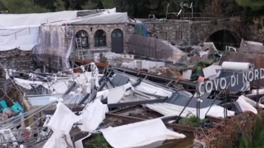 Aerial footage shows extent of damage in Italy's storm-hit Rapallo | Euronews