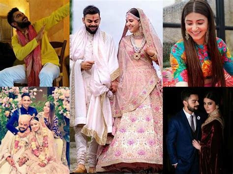 Anushka Sharma and Virat Kohli wedding photos: Interesting