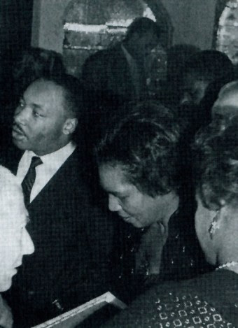 Martin Luther King, Claudia Jones