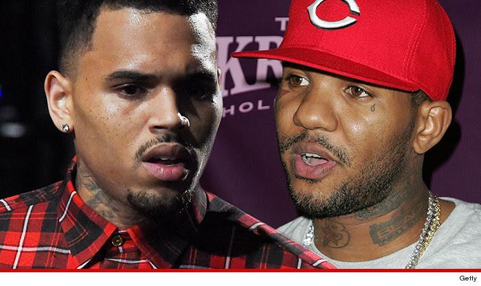The Game Chris Brown Anti Gang Basketball