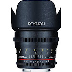 Rokinon Lens for Micro Four Thirds - 50mm - T/1.5