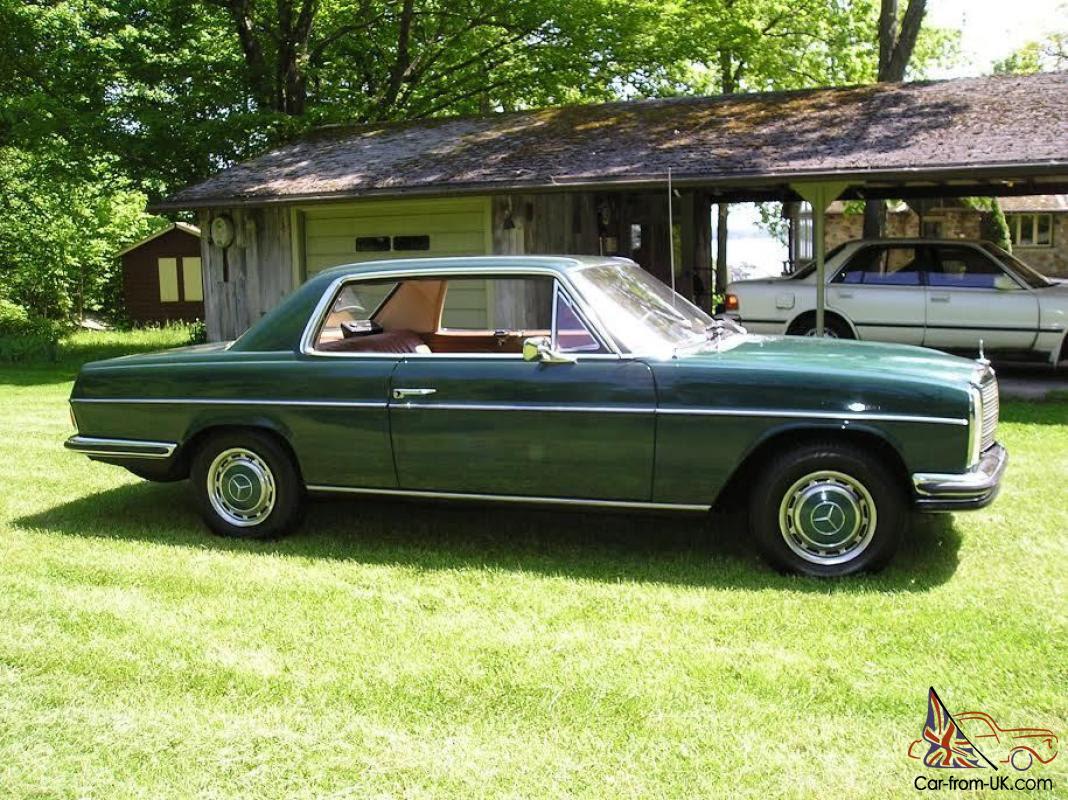 1970 Mercedes-Benz 200-Series 2 door coupe | eBay