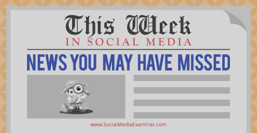 Embeddable Facebook Videos: This Week in Social Media |