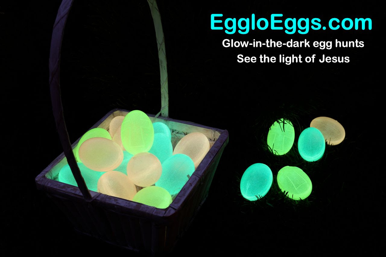 Egglo Entertainment - glow in the dark Easter eggs