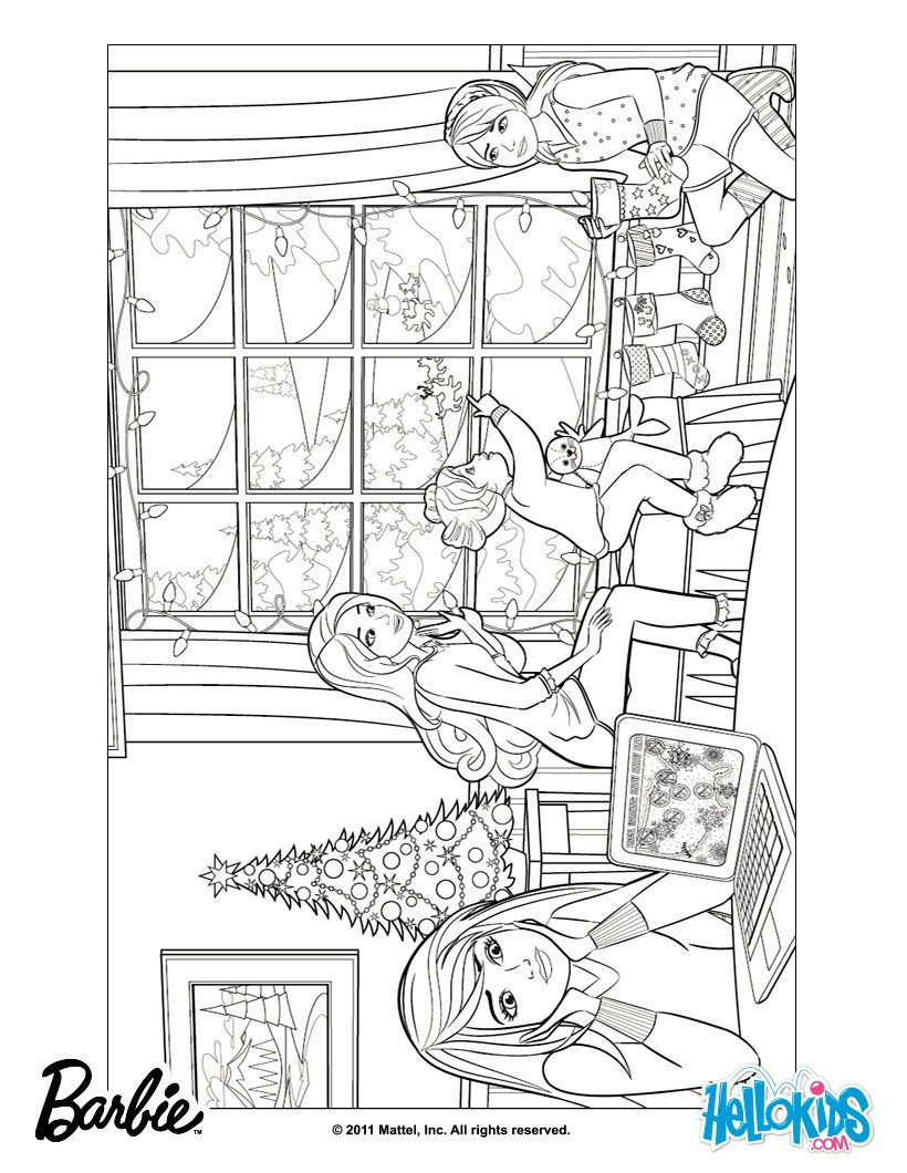Barbie Skipper Stacie And Chelsea Coloring Pages Foto Barbie