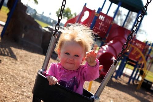 Mama & P at the park Jan 2012 10