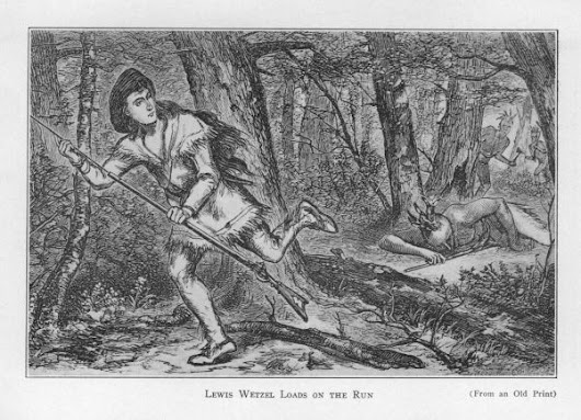 The Scrape Of Lewis And Jacob Wetzel And The Nerve Of Two Boy Scouts(1778)