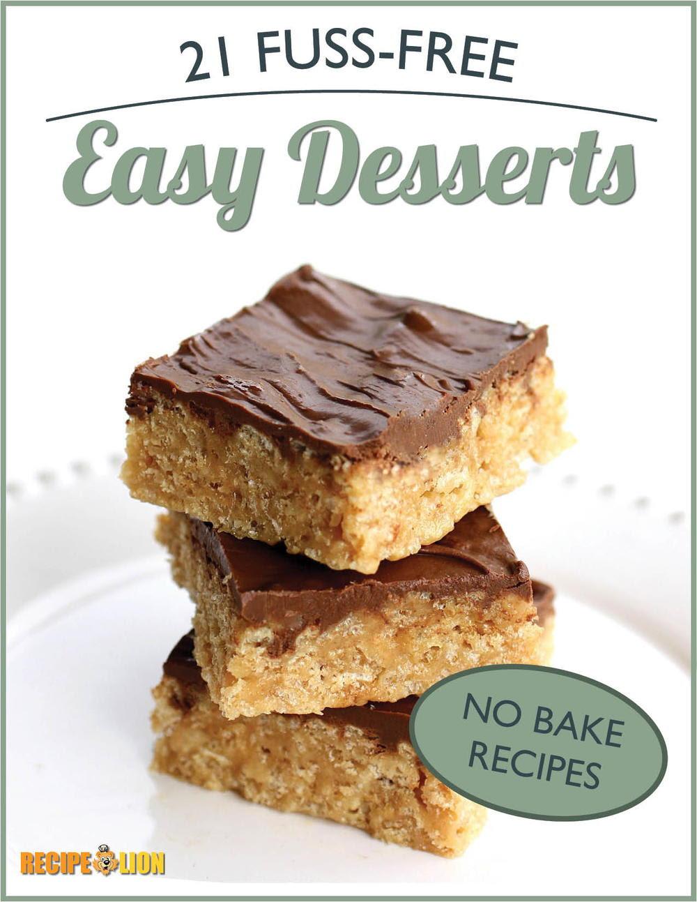 No Bake Recipes 21 Fuss Free Easy Desserts Ecookbook Recipelion Com