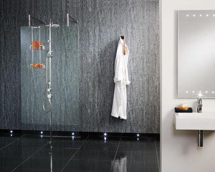PVC Vinyl Decorative Interior Shower Interlocking Wall Panels