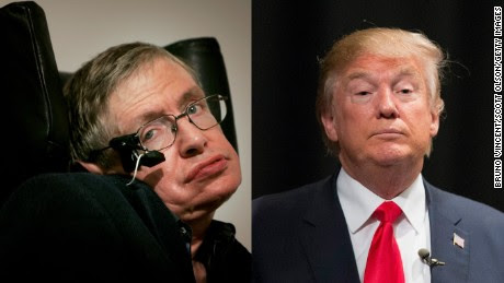 Stephen Hawking: Trump 'is a demagogue'
