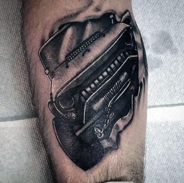 Desenhos De Tatuagem Mens Jeep Temático
