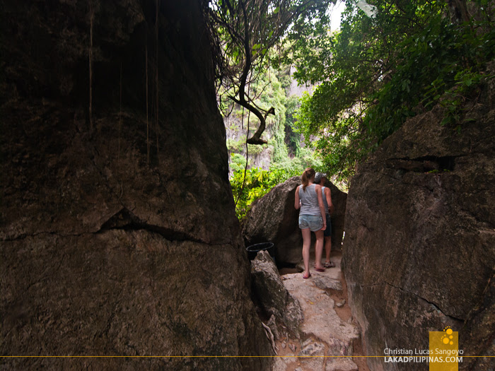 Rock Trail at Thailand's James Bond Island