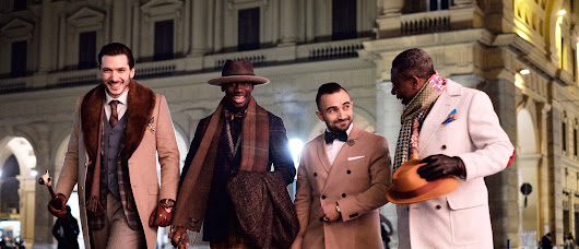 05 May A night in Florence: shooting with some of the most elegance man from Pitti Uomo