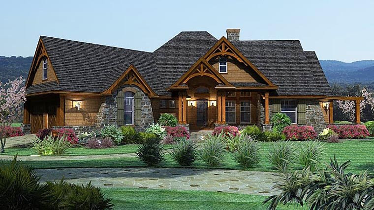 House  Plan  65862 at FamilyHomePlans com