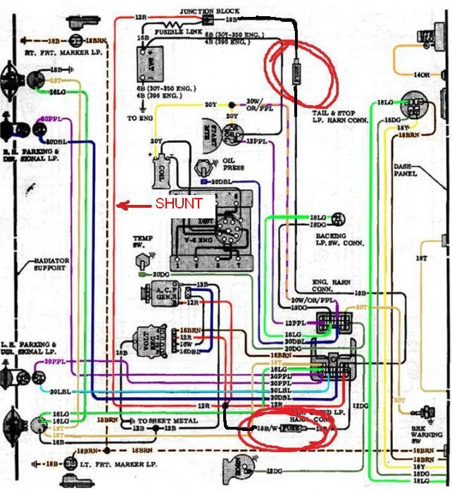 72 Chevy C10 Wiring Diagram - Wiring Diagram Networks