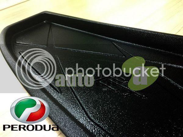 Buy PERODUA ALZA: ORIGINAL ABS Rubber Anti Non Slip Rear