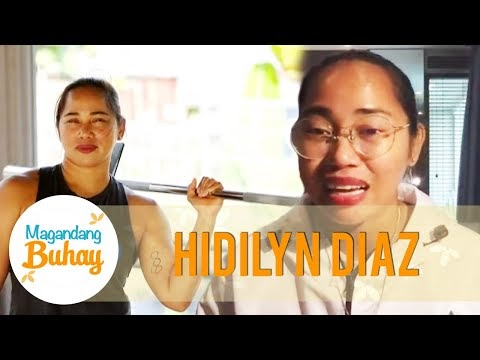 Hidilyn says that she was trained in Malaysia for almost 2 years | Magandang Buhay