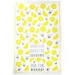 MUkitchen 100% Cotton Oversized Designer Kitchen Towel, Tequila - 20 x 30 inches