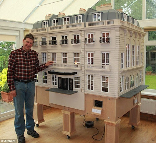 Tim Hartnell Miniaturist | Dollhouse Decorating
