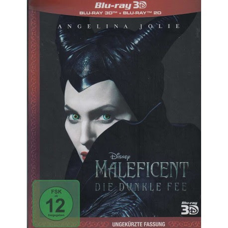 Maleficent Die Dunkle Fee Bluray 3D Disc