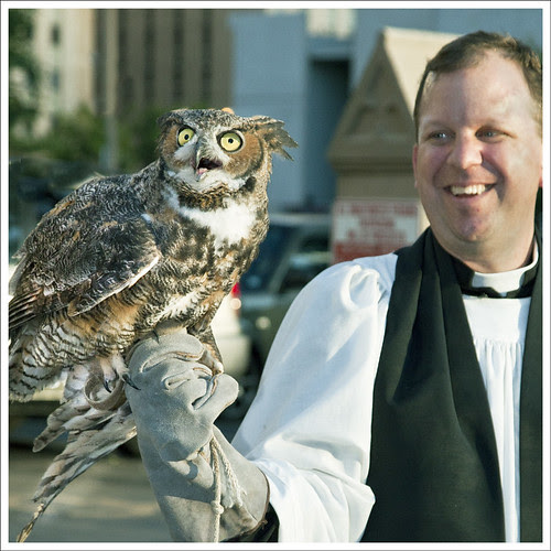 Owl and Priest