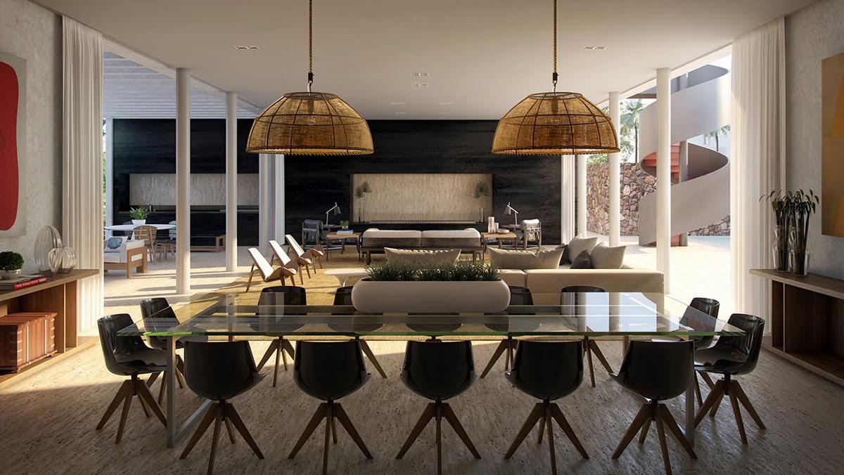 Modern Dining Room Tables   Design Builders
