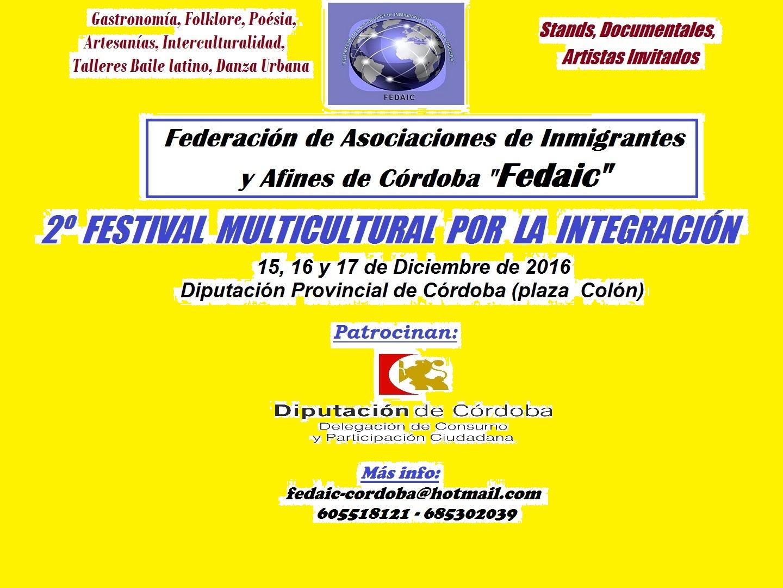 2º Festival Multicultural por la Integración 2016