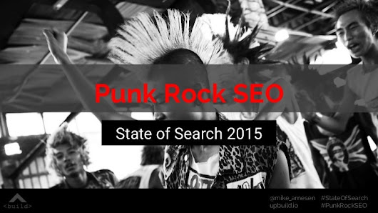 Punk Rock SEO from State of Search 2015