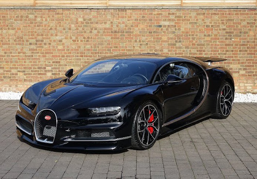 First Used Bugatti Chiron for Sale - Exotic Car List