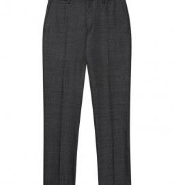 Reiss Next Prev Whitestone T Textured Mixed Trouser Grey