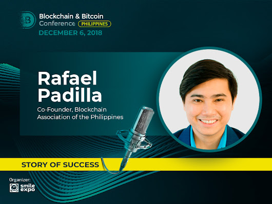 I Want My Organization to Be Inclusive – The Story of Rafael Padilla, Co-Founder BAP | Blockchain Conference Philippines