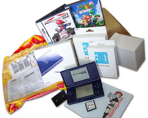 Nintendo DS Lite Birthday Package