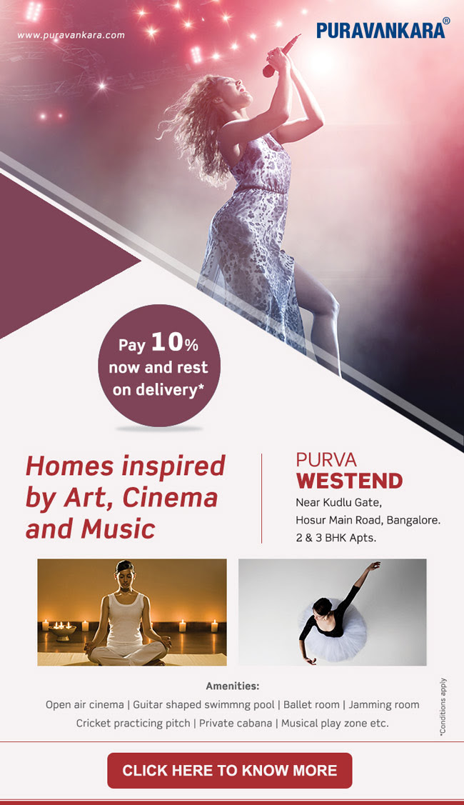 Purva Westend mailer Click here to know more